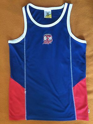 Sydney Roosters Rugby League Supporters Singlet size mens small