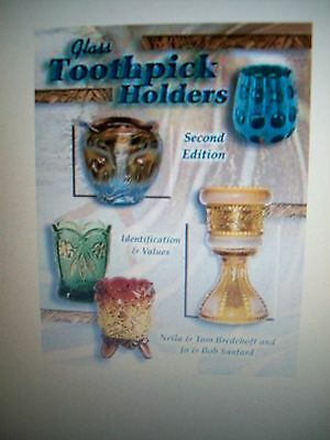 ANTIQUE TOOTHPICK HOLDER'S PRICE GUIDE COLLECTORS BOOK tooth pick