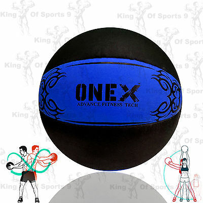 5Kg MEDICINE BALL NO BOUNCE WEIGHT LIFT WORKOUT MMA BOXING FITNESS GYM