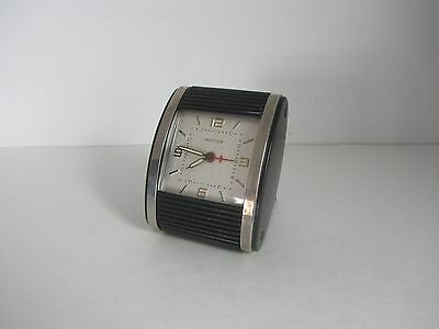 1960's Art Deco Westclox wind up Alarm Clock