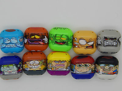 RARE! Mighty Beanz! All 10 square beans from Series 3! Collect!