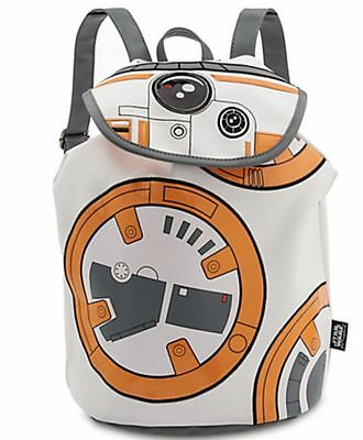 Disney Store Star Wars BB-8 BB8 Droid The Force Awakens Backpack Bag Purse NEW
