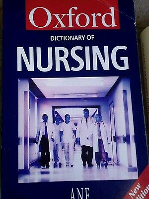 A Dictionary of Nursing by Tanya A. McFerran (Paperback, 2003)