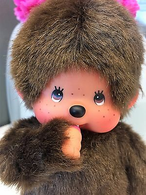 Vintage Monchichi Monchhichi-Boy Monkey- Sekiguchi-stuffed plush toy-1980's CUTE