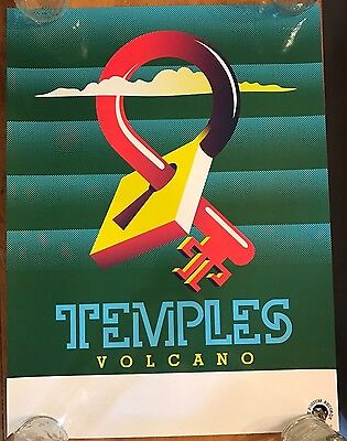 TEMPLES Band Volcano Poster Print