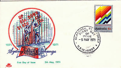 1971 - Australia - Sydney Stock Exchange - First day cover
