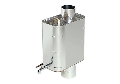 Harvia water heater. (22 l) of the flue tubes