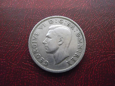 1950 King George VI Two Shillings ( Florin )