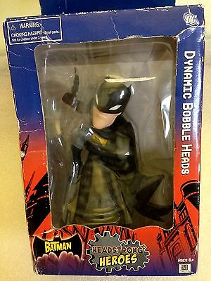 Headstrong Heroes Animated Batman Dynamic Bobble Head - New