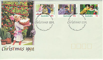 1992 - Australia -  Christmas    - First Day Cover