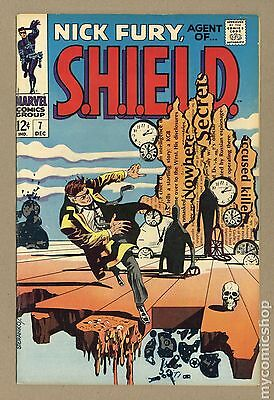 Nick Fury Agent of SHIELD (1968 1st Series) #7 FN 6.0