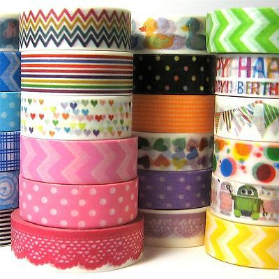 Washi tape NEW 29 designs for party decorations baby shower gift wedding favours