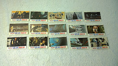 Star Wars Complete Set 15x New Zealand Tip Top Space Ice Stickers - Lot A
