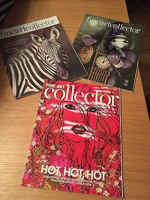 Selection Of 6 Fine Art Collector Magazines