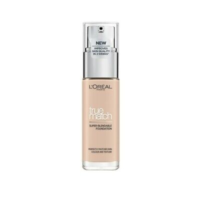 L'Oreal True Match Super-Blendable Foundation 30mL - Choose Your Shade