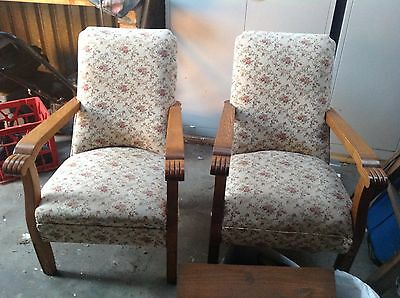 Two Antique Sofa Chairs
