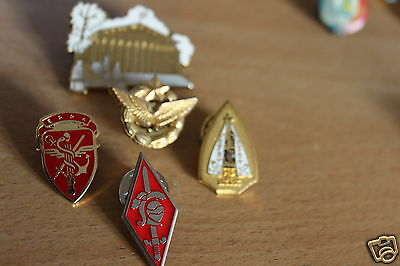 FRENCH Militaria  AIRBORNE/army pin BADGE