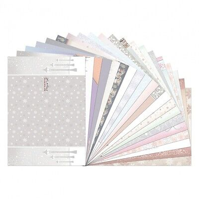 Hunkydory Festive Elegance Luxury Inserts For Cards 20 Sheets