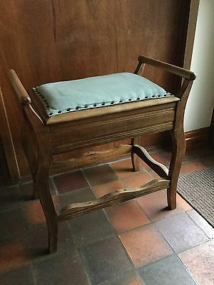 Piano Stool With Old Sheet Music
