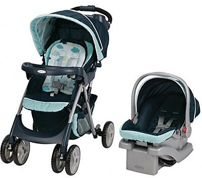 Baby Infant Car Seat Stroller Click Connect Safety Carrier Travel System Sleeper