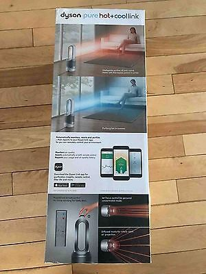 Dyson Pure Hot + Cool Link™ Fan Heater Air Purifier, White/Silver