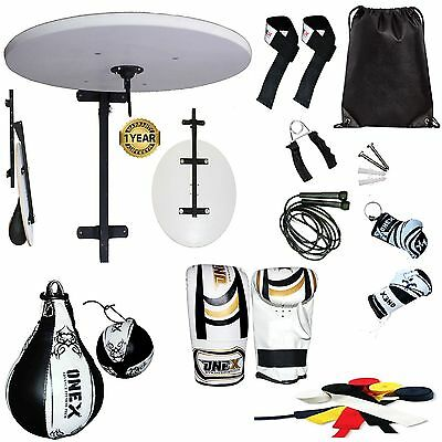 1x1 Punch Boxing Speed Ball Platform Set Adjustable Stand, Boxing Gloves Bracket