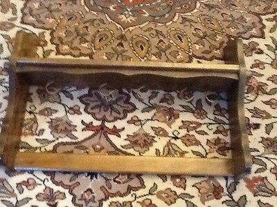 VINTAGE FRENCH, OAK, PAN RACK, holds 5 pans