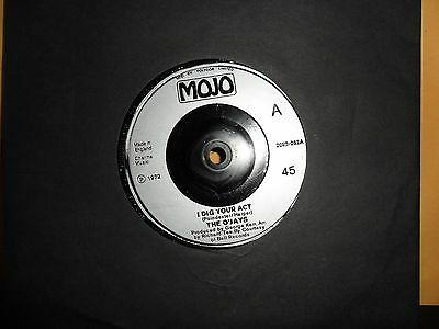 "The O'jays.i Dig Your Act.mojo.7"" Vinyl.45Rpm"