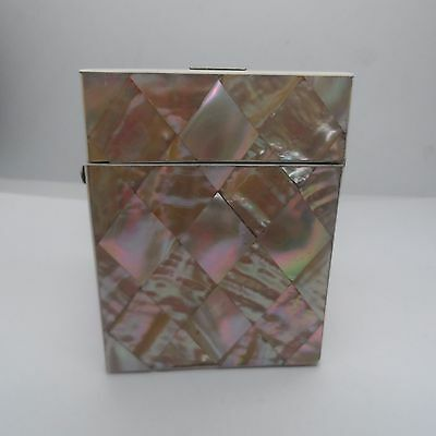 Antique Victorian Mother of Pearl Card Case  Circa 1860-1880 No Reserve