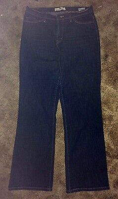 """*LEVI'S*512*BLUE JEANS,""""PERFECTLY SLIMMING BOOTCUT"""",MID-RISE,STRTCH,Sz.14M,W:33"""""""