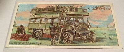2 X WW1 Players Cigarette Cards. Motor Vehicles.