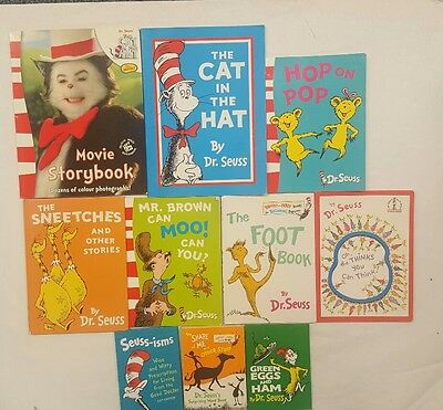 Dr Seuss 10 book bundle