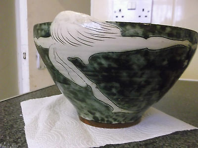 Great Peter Bolton Nude Lady For The Joy Of The Sweet Green Earth Pottery Bowl