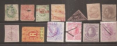 Columbia and Bolivar 1870s-1900's stamps from old collection w9199