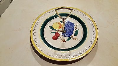 "Stangl Fruit Tidbit 10"" Serving Tray"