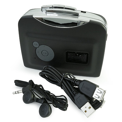 Incutex Cassette Tape to MP3 Converter (No PC Necessary) - Digitise Tapes