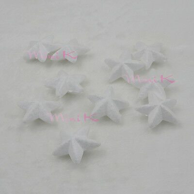 5pcs 80mm Handmade Foam Star Polystyrene Styrofoam DIY New Decorations Party