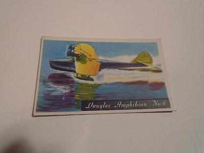 Vintage HJ Heinz Breakfast Cereal Famous Airplane Douglas Trading Card 6