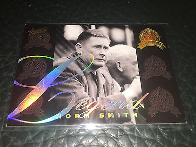 2012 AFL Select Eternity Legend Card Norm Smith