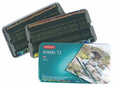 Derwent Artist Pencils Tin 72 Pack (Brand New & Sealed) Free Shipping Colouring