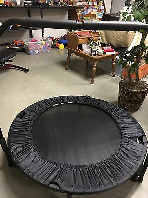 Fitness Trampoline With Exercise Rebounder Handle