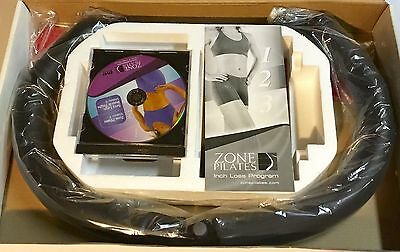 Zone Pilates Exercise Ring w/DVD, Foot Guide Mat, Meal Planner Guide NEW