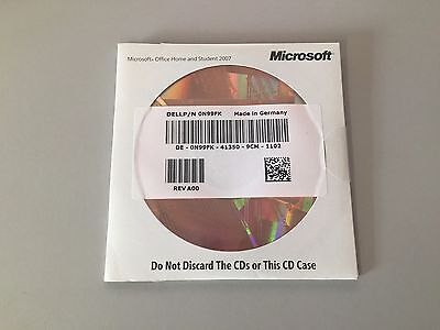 Microsoft OFFICE HOME AND STUDENT 2007 - with Product Key