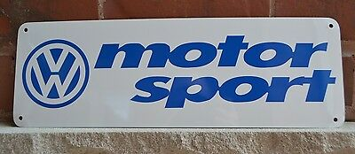 Volkswagen VW Motor Sport Race Fan SIGN Bettle Bug Mechanic Garage Shop Ad 7day