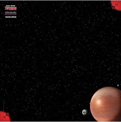 RARE Yavin 2017 Official Playmat: X-Wing Miniatures Game