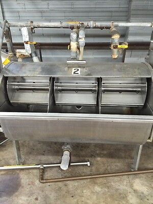 Paddle Dye Machine - Rome-type - 3 Separate Compartments