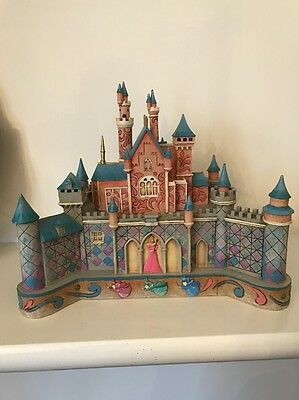 Disney Traditions Jim Shore Sleeping Beauty True Love's Castle Showcase Fairies