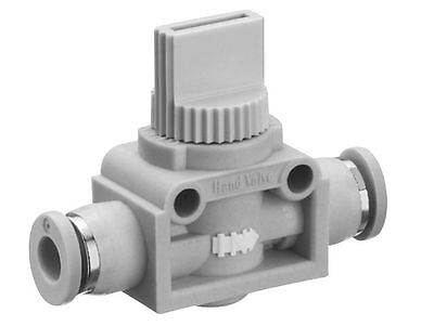 Vacuum Push Fit Manual Venting Shut Off Valve , also can be on Compressed Air