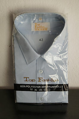 Vintage Herren Hemd Shirt 60er 70er NOS Top Fashion Gr 42