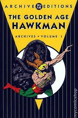DC Archive Editions Golden Age Hawkman HC (2005 DC) #1-1ST FN